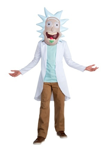 Click Here to buy Rick and Morty Rick Kids Costume from HalloweenCostumes, CDN Funds & Shipping