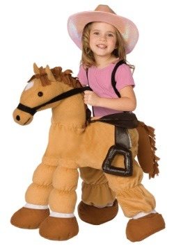 Pony Ride In Toddler Costume