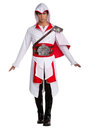 Click Here to buy Assassins Creed II Ezio Mens Costume from HalloweenCostumes, CDN Funds & Shipping