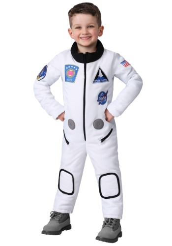 Click Here to buy Deluxe Astronaut Costume for a Toddler from HalloweenCostumes, CDN Funds & Shipping