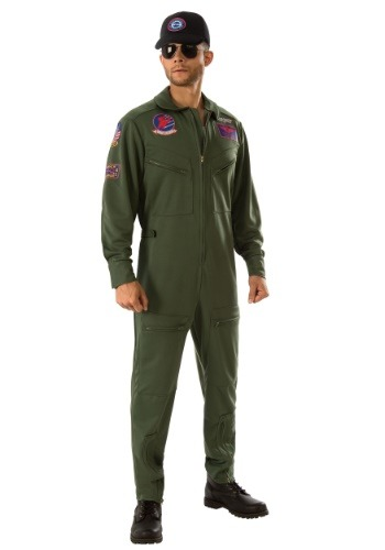 Top Gun Jumpsuit Men's Costume
