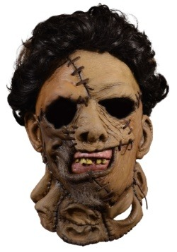 Texas Chainsaw Massacre 2 Deluxe Leather Face Mask