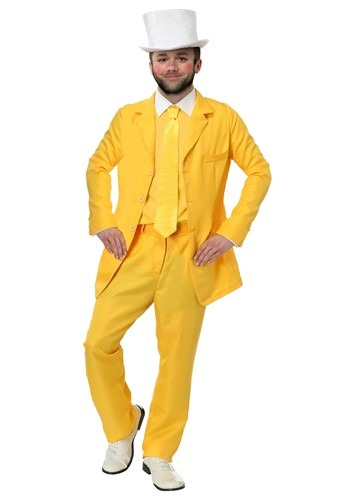 Always Sunny Dayman Yellow Suit Plus Size Costume for Men 2X
