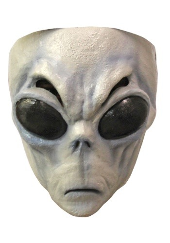Click Here to buy Gray Alien Mask from HalloweenCostumes, CDN Funds