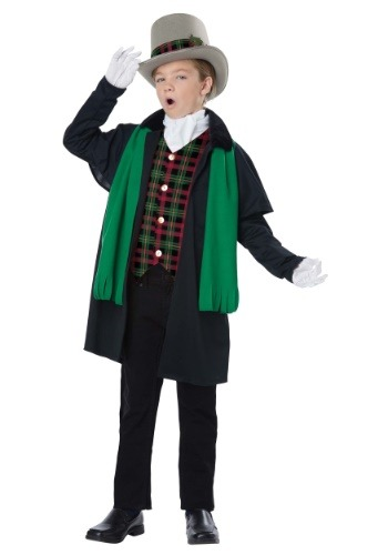 Boy's Holiday Caroler Costume