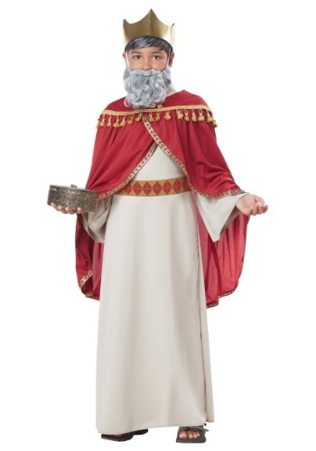 Click Here to buy Boys Melchior Wise Man Costume from HalloweenCostumes, CDN Funds & Shipping