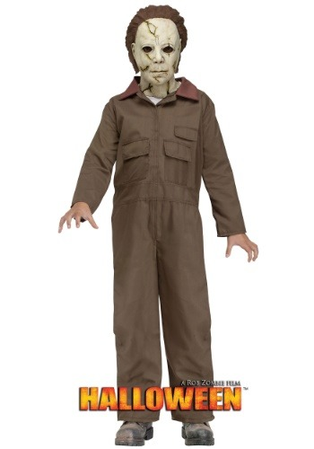 Click Here to buy Rob Zombie Halloween Michael Myers Kids Costume from HalloweenCostumes, CDN Funds
