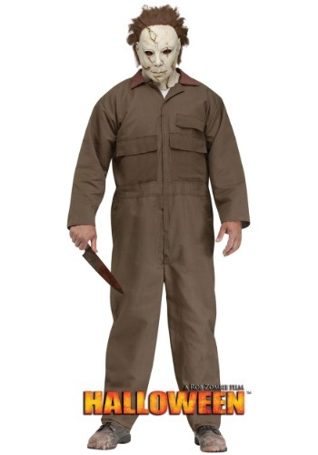 Click Here to buy Rob Zombie Halloween Michael Myers Mens Costume from HalloweenCostumes, CDN Funds & Shipping