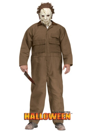 Click Here to buy Rob Zombie Halloween Michael Myers Plus Size Mens Costume from HalloweenCostumes, CDN Funds