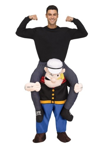 Click Here to buy Popeye Ride On Costume for Adults from HalloweenCostumes, CDN Funds & Shipping