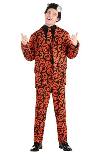 Click Here to buy David S. Pumpkins Mens Costume from HalloweenCostumes, CDN Funds & Shipping