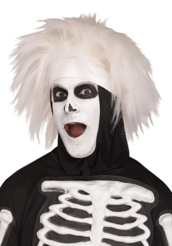 Click Here to buy Beat Boy Skeleton Wig for an Adult from HalloweenCostumes, CDN Funds & Shipping