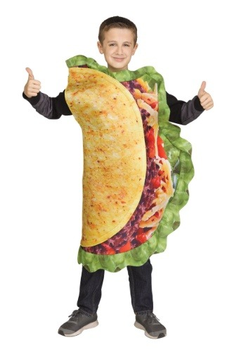 Click Here to buy Realistic Taco Kids Costume from HalloweenCostumes, CDN Funds & Shipping