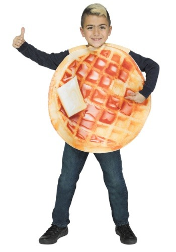 Click Here to buy Waffle Kids Costume from HalloweenCostumes, CDN Funds & Shipping