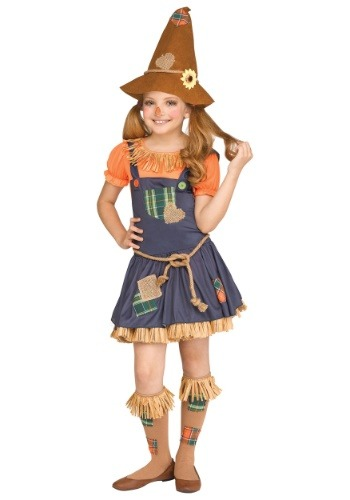 Click Here to buy Sweet Scarecrow Girls Costume from HalloweenCostumes, CDN Funds