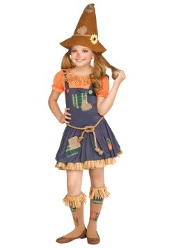 Sweet Scarecrow Girls Costume