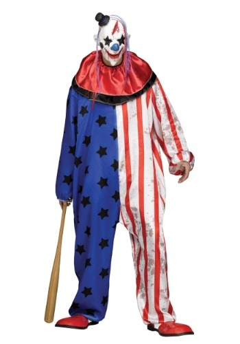 Click Here to buy Evil Clown Mens Costume from HalloweenCostumes, CDN Funds & Shipping