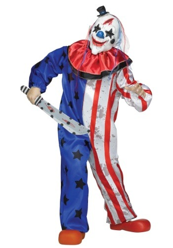 Click Here to buy Evil Clown Kids Costume from HalloweenCostumes, CDN Funds & Shipping