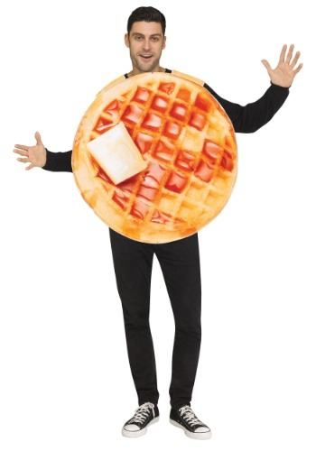 Click Here to buy Waffle Costume Food Costumes for Adults from HalloweenCostumes, CDN Funds & Shipping