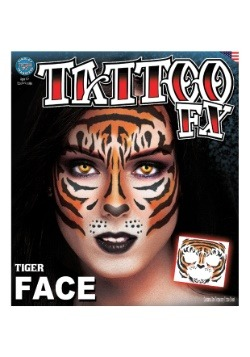 Tiger Face Tattoo