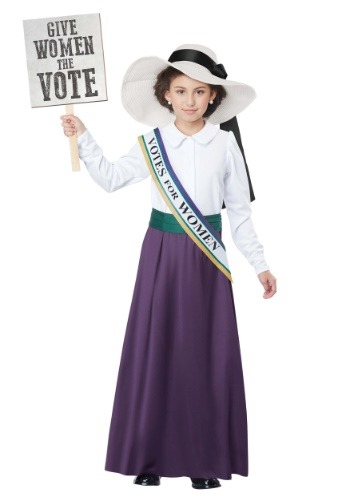 American Suffragette Girls Costume