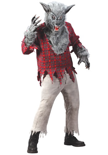 Click Here to buy Silver Werewolf Costume from HalloweenCostumes, CDN Funds & Shipping