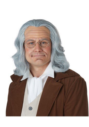 Benjamin Franklin Adult Wig