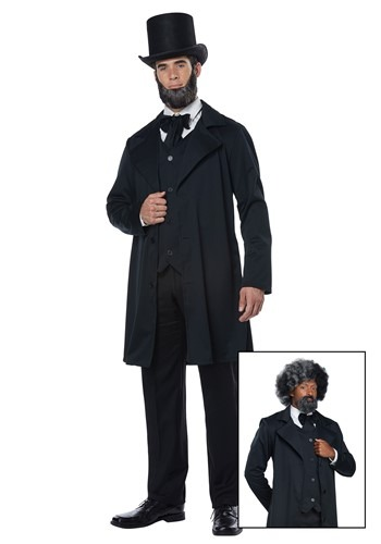 Frederick Douglass/Abraham Lincoln Adult Size Costume