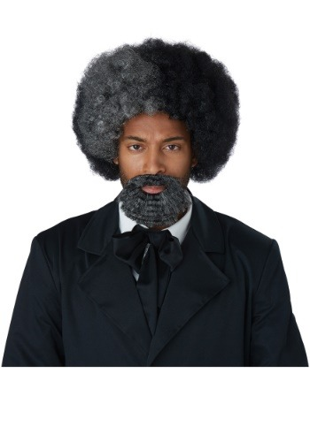 Frederick Douglass Adult Wig and Goatee