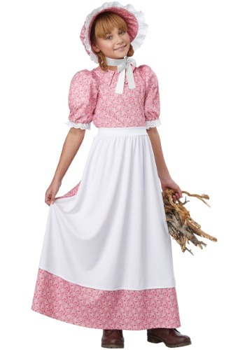 Early American Girl Costume for Girls
