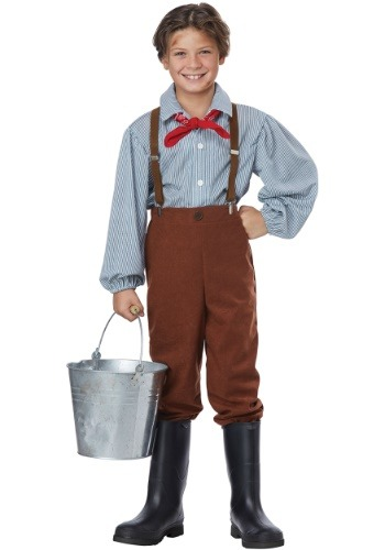 Click Here to buy Pioneer Boy Boys Costume from HalloweenCostumes, CDN Funds & Shipping