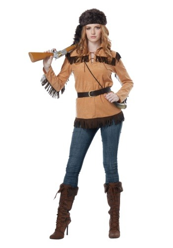 Frontier Lady Costume for Women