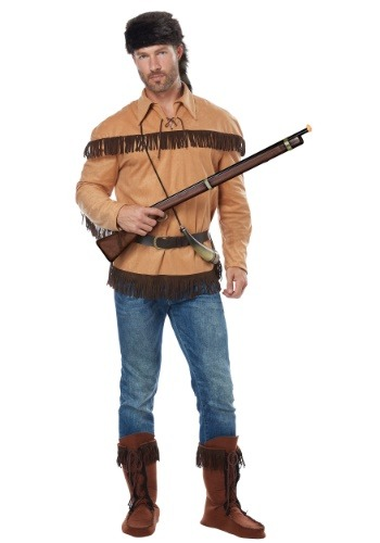 Davy Crockett Costume for Adults