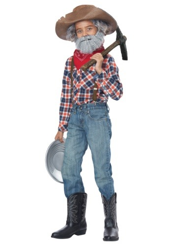 Boy's Prospector Costume Kit