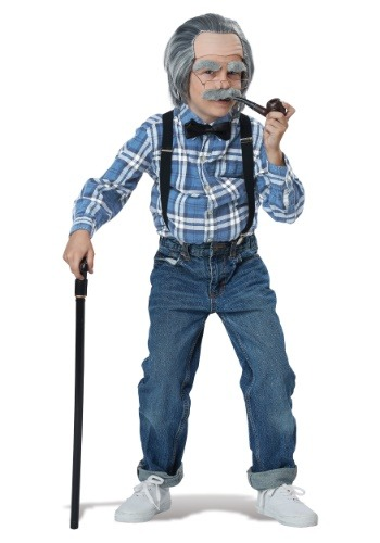 Old Man Costume Kit for Boys