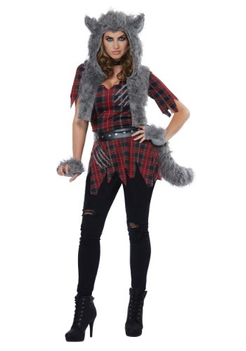 Click Here to buy She-Wolf Womens Costume from HalloweenCostumes, CDN Funds & Shipping