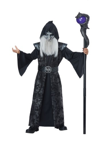 Click Here to buy Dark Wizard Costume for Kidsren from HalloweenCostumes, CDN Funds & Shipping