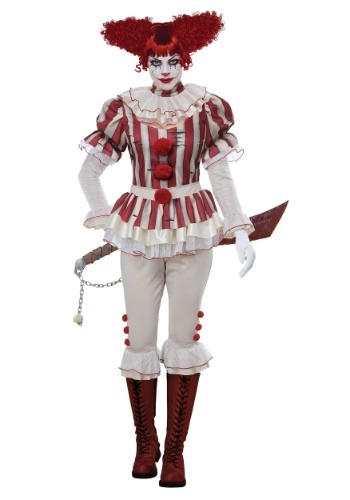 Click Here to buy Womens Sadistic Clown Costume from HalloweenCostumes, CDN Funds & Shipping