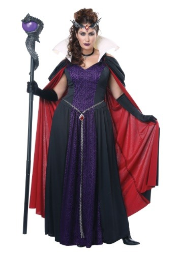 Evil Storybook Queen Costume for Plus Size Women