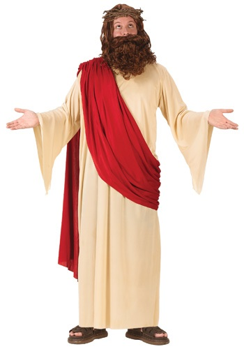 Click Here to buy Adult  Jesus Costume from HalloweenCostumes, CDN Funds & Shipping