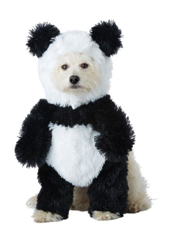 Panda Costume for a Dog