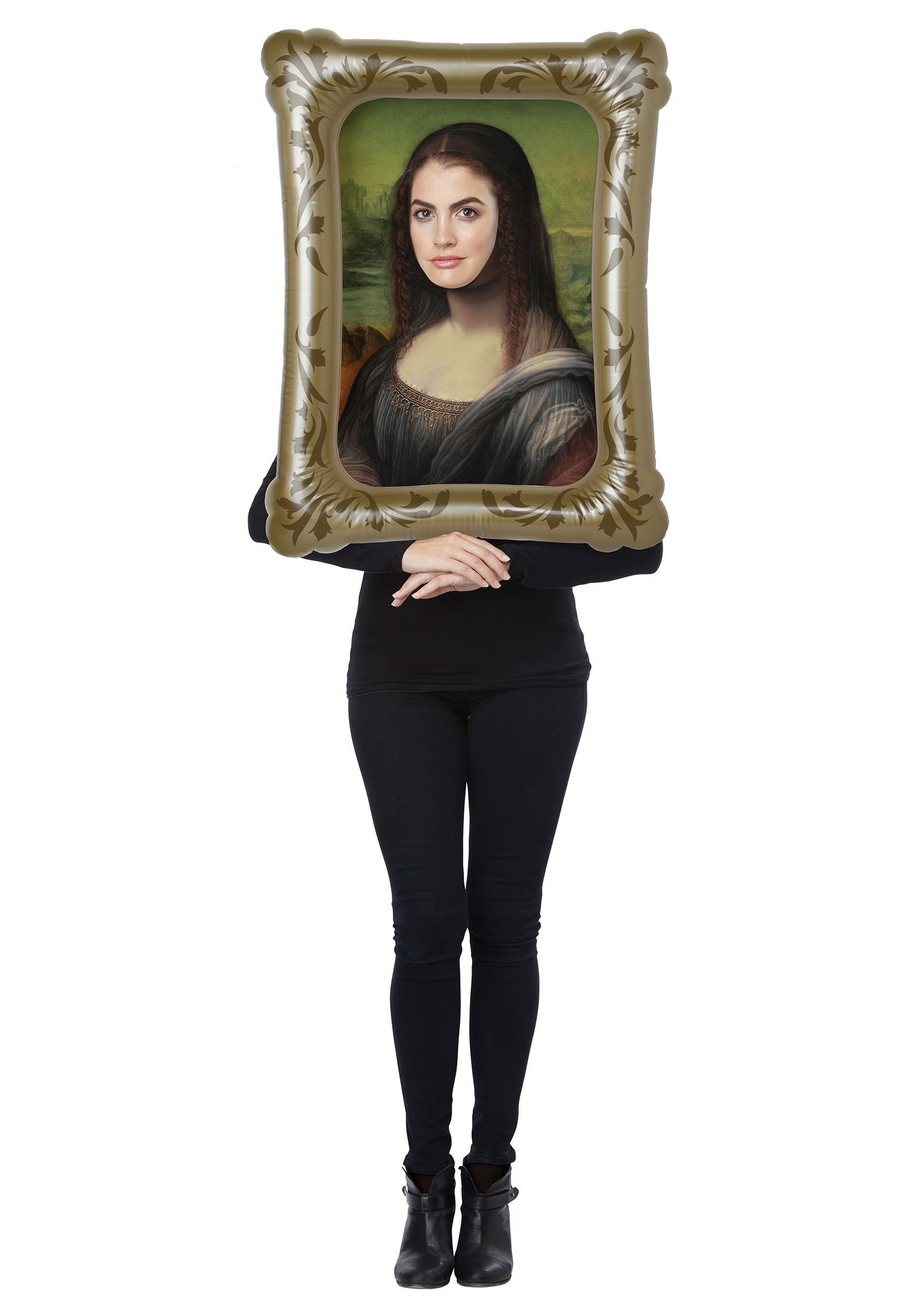 Mona Lisa Costume Kit-book character costume ideas for adults