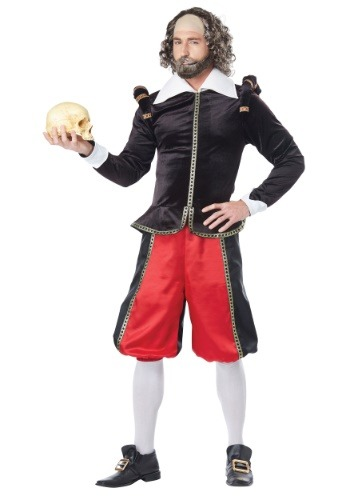 Click Here to buy William Shakespeare Costume for Adults from HalloweenCostumes, CDN Funds & Shipping