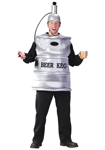 Click Here to buy Beer Keg Costume from HalloweenCostumes, CDN Funds & Shipping