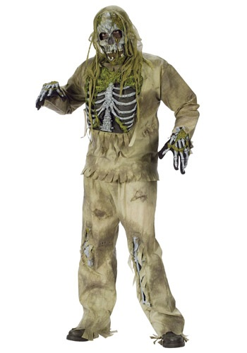 Click Here to buy Skeleton Zombie Costume from HalloweenCostumes, CDN Funds