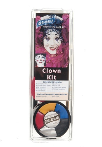 Deluxe Clown Makeup Kit
