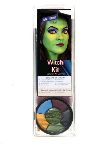 Deluxe Witch Face Makeup Kit