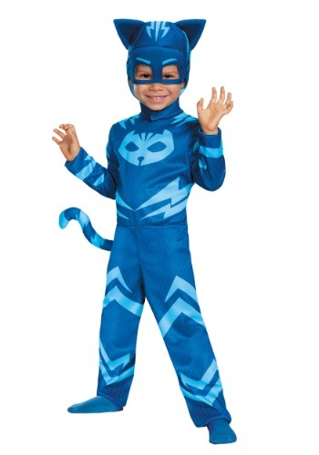 Click Here to buy PJ Masks Kids Classic Catboy Costume from HalloweenCostumes, CDN Funds & Shipping