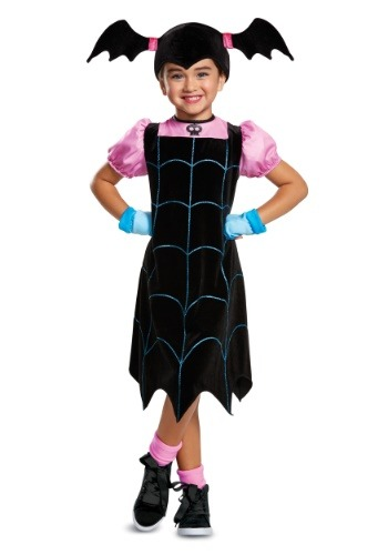 Click Here to buy Disney Vampirina Classic Girls Costume from HalloweenCostumes, CDN Funds & Shipping