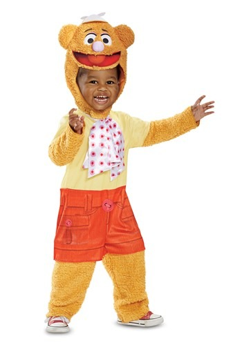Click Here to buy Fozzie Bear Costume for Babys from HalloweenCostumes, CDN Funds & Shipping